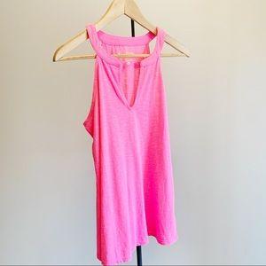 Flamingo Pink Lilly Pulitzer ARYA Tank NWT Sz M